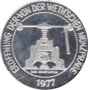 Token - Marterburg im Schnoor zu Bremen – reverse