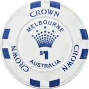 1 Dollar - Crown Melbourne – obverse