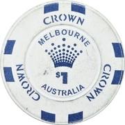 1 Dollar - Crown Melbourne – reverse