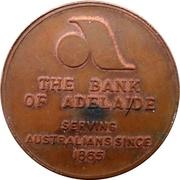 Token - The Bank of Adelaide / 10th Australian Jamboree – obverse