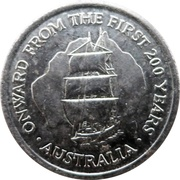Token - Onward From The First 200 Years -  obverse