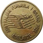 Token - Australian Formula 1 Grand Prix (Adelaide) – obverse