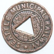Full Fare - Seattle Municipal Railway – obverse