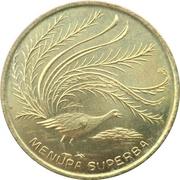 Token - 1977 Royal Silver Jubilee (Menura Superba) – obverse