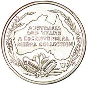 Australia 200 Years Medal Collection (Mathew Flinders) – reverse