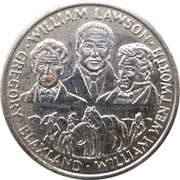 Australia 200 Years Medal Collection (Blaxland, Wentworth and Lawson) – obverse