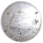 Casino Token - The Sportsman London Queen Elizabeth 2 – reverse