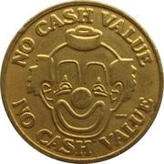 Token - No Cash Value (Clown; 25.4 mm) – obverse