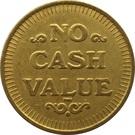 Token - No Cash Value (Clown; 25.4 mm) – reverse