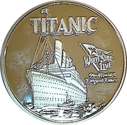 Token - Titanic – obverse