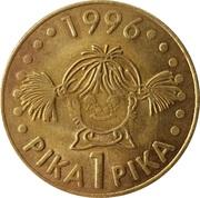 1 Pika - Splošna banka Velenje (Velenje) – reverse