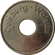 Car Wash Token - Mr. Ay wash (Duisburg) – reverse