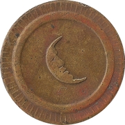 20 Centimes (Moon) – obverse