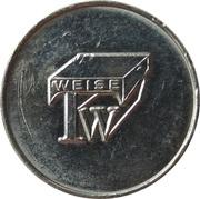 Car Wash Token - Waschcenter Weise (Scheeberg, Kirchberg) – reverse