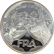 Token - 2018 FIFA World Cup (France) – obverse
