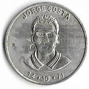Token - Jornal O Jogo (Jorge Costa) – obverse