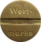 Token - Wert-Marke – obverse