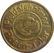 Rosen-Taler - Rosen Apotheke (Pleidelsheim) – reverse