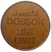 1 Unit - J and M Dobson – reverse