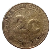 2 Cents - Coin Scan – obverse