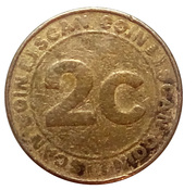 2 Cents - Coin Scan – reverse