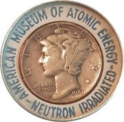 Irradiated Mercury Dime – obverse