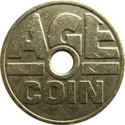 Cigarette Vending Token - Age Coin – reverse