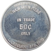 50 Cents - NCO Open Mess (Lockbourne AFB, Ohio) – obverse