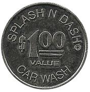 1 Dollar - Splash and Dash Car Wash – obverse