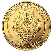 Token - L'Histoire de la Révolution Française (La bataille de Jemmapes) – reverse