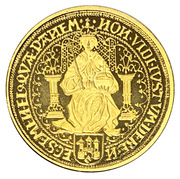 Réplique double souverain d'or - Rosenobel von Kampen – obverse