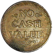 Car Wash Token - Highpoint Carwash (Dundalk) – reverse