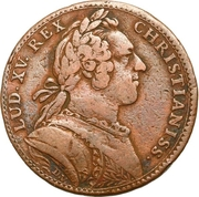 Token - Louis XV (États de Bourgogne; 3rd type) – obverse