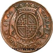 Token - Louis XV (États de Bourgogne; 3rd type) – reverse