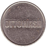 Car Wash Token - Ottowash – obverse