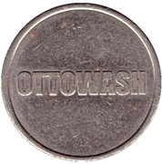 Car Wash Token - Ottowash – reverse