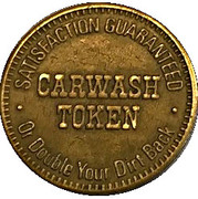 Carwash Token – reverse