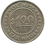 1 Dollar - Olympic Car Wash – obverse