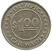 1 Dollar - Olympic Car Wash – reverse