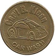 Carwash Token - Car'l B. Kleen – obverse