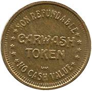 Carwash Token - Car'l B. Kleen – reverse