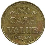 Carwash Token (No Cash Value; 28.5 mm) – reverse