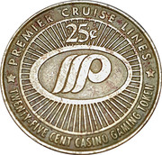 25 Cent Gaming Token - Premier Cruise Lines – reverse