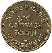 Carwash Token - Soap N Suds Car Wash – reverse