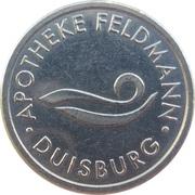 1 Bonus Taler - Apotheke Feldmann (Duisburg) – obverse