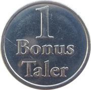 1 Bonus Taler - Apotheke Feldmann (Duisburg) – reverse