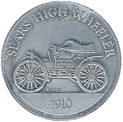 Token - Sunoco Antique Car Coin Series 1 (Sears High Wheeler) – obverse