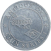 Token - Sunoco Antique Car Coin Series 1 (Sears High Wheeler) – reverse