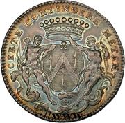 Token - États de Bourgogne (Maire de Dijon Jean-Pierre Burteur (2nd type); silver) – obverse