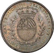 Token - États de Bourgogne (Maire de Dijon Jean-Pierre Burteur (2nd type); silver) – reverse